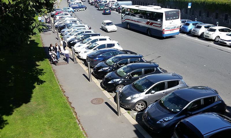 Elbil parkering oslo