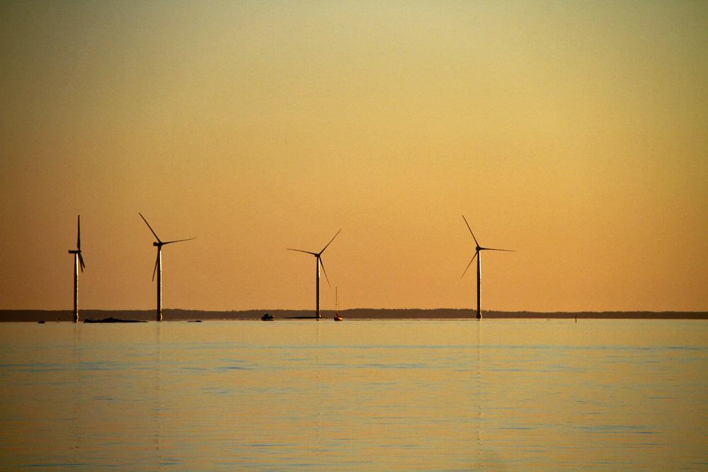Vindkraft-vindmoller