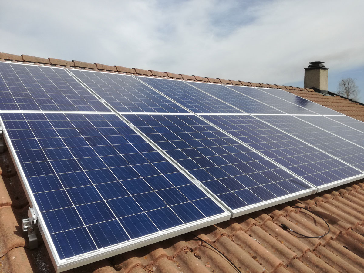 sol-rekord-installasjon